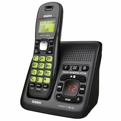 Uniden 1635 Dect Digital Phone System Power Failure Backup Answering Machine