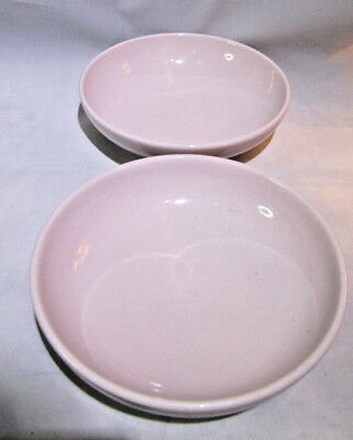 Iroquois Pink bowls (2) Russell Wright