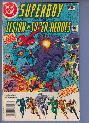 Superboy 243 (Sept 1970) DC Comic VG+ 50% off guide