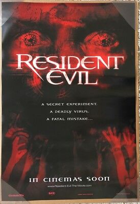 RESIDENT EVIL MOVIE POSTER 2 Sided ORIGINAL INTL Advance 27x40 MILLA JOVOVICH