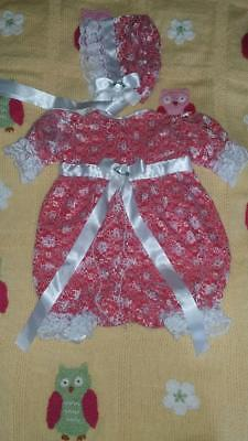 Reborn Doll Clothes Set.  Handmade In Uk.  New!