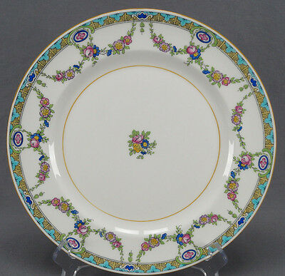 "Set of 5 Minton B935 Pattern Floral Rose Garland 10 1/4"" Dinner Plates"