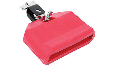 Percussion Effect - Plastic Block - Low - Red for drum kit cowbell alternative