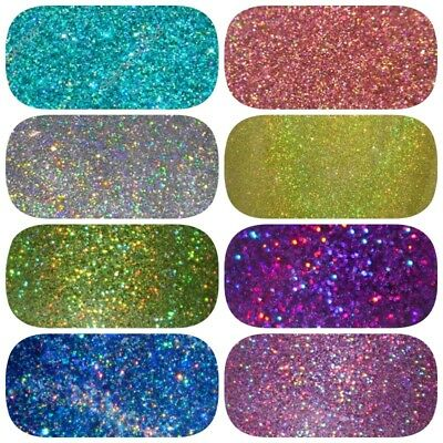 HOLOGRAPHIC GLITTER 10g 20g 50g 100g Nail Art, Cosmetic, Wine Glass and Body