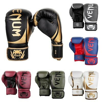 Venum Challenger Boxing,MMA,Muay Thai,Kickboxing,K1 Sparring Gloves10,12,14,16oz