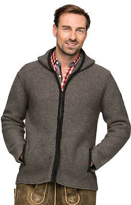 Stockerpoint Traditional Jacket Cardigan Stone
