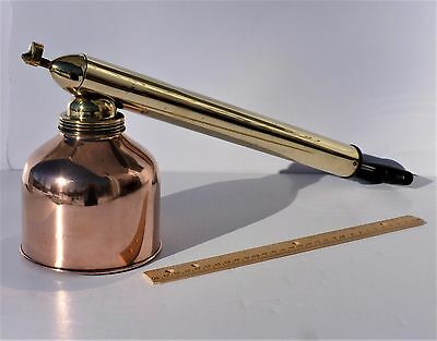 D. B. Smith & Company BLIZZARD Bug Sprayer COPPER & BRASS Antique Garden Tool