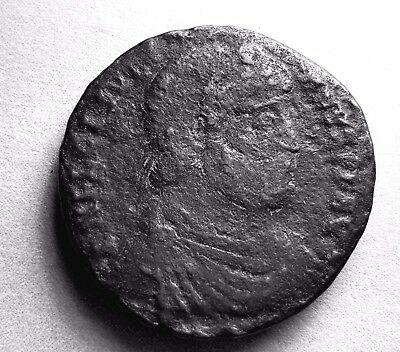 Roman Coin (Rare) Of Julian Ii. 355-360 Securitas Reipub - Bull Reverse  #317