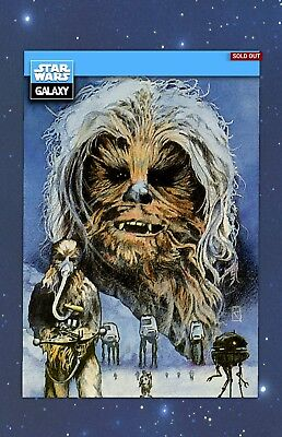 Chewbacca Chewy - GALAXY SELECTS WAVE 2 - TOPPS STAR WARS CARD TRADER