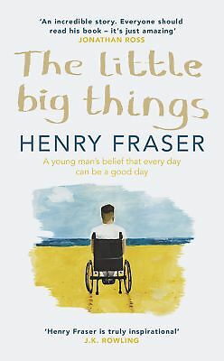 The Little Big Things - Henry Fraser Book Hardcover Brand New Free Shipping UK