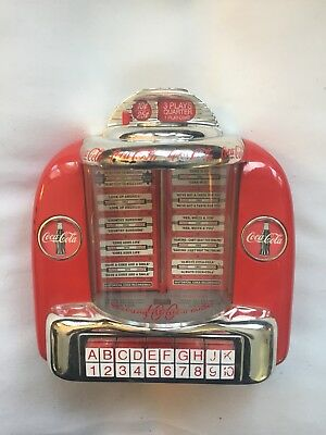 Coca Cola Jukebox Bank Numbered