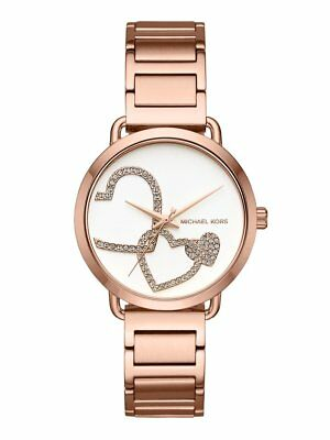 Michael Kors Women's MK3825 'Portia'  Stainless Steel Watch,Rose Gold tone