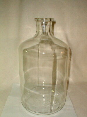 Pyrex glass vintage carboy bottle 3.5 gallon large laboratory