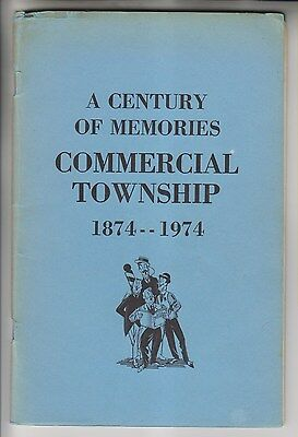 1974 Booklet - Commercial Township New Jersey - Century Of Memories 1874-1974