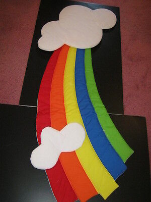 Vintage Soft Wall Hanging Large Rainbow- New-Perfect for any room!