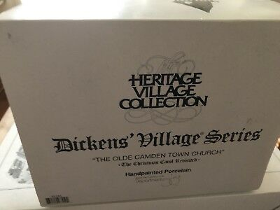 "Dept 56 - Dickens Village ""The Olde Camden Town Church"""