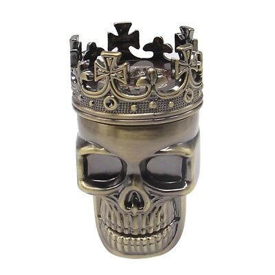 King Skull Herbal, Herb Tobacco Grinder Smoke Grinders Crusher Metal