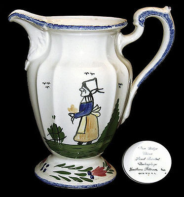 Blue Ridge Peasant RARELY Found  Pitcher / Jug