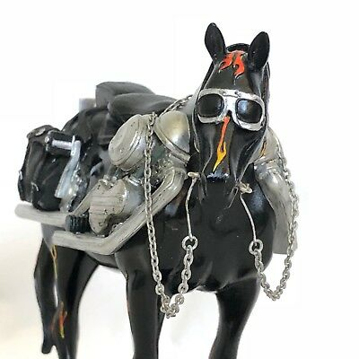 The Trail Of Painted Ponies Motorcycle Mustang Horse Westland # 1450 Collectible