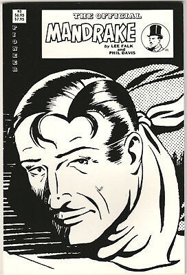 Official Mandrake the Magician Deluxe #3 VF 1989 Pioneer King Comics Lee Falk