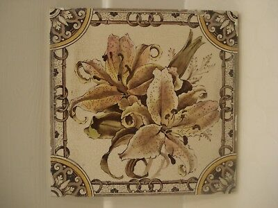 Vintage/ Period/ Antique / Victorian Fireplace - Transfer Print -Lily Tile