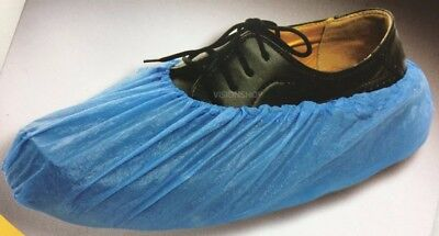 boxed Disposable Overshoes Shoe Covers Protectors Carpet Flooring universal size