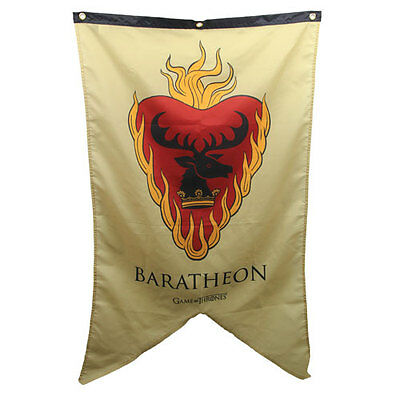 Game of Thrones New * Stannis Baratheon Sigil Banner * 30 x 50 Fabric Poster