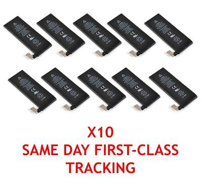 10X OEM Original Battery for Apple iPhone 5S 1560mAh Li-ion Internal Replacement
