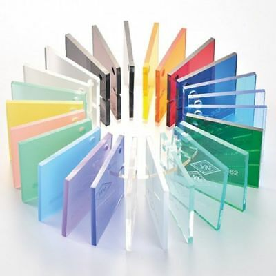 Bespoke Clear Acrylic Perspex Plastic sheet Custom Cut to Any Size New