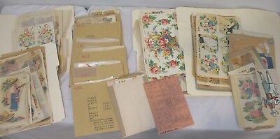 HUGE LOT of DECALS by EAGLE DECAL INC New York ~ Vintage 1940-50's Decorations
