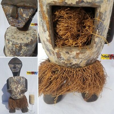 PERFECT Mbete Ambete Reliquary Figure Sculpture Statue Mask Fine African Art