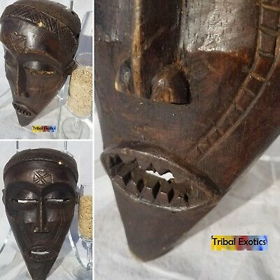 UNPARALLELED Tchokwe Chokwe Mask Figure Statue Sculpture Fine African Art