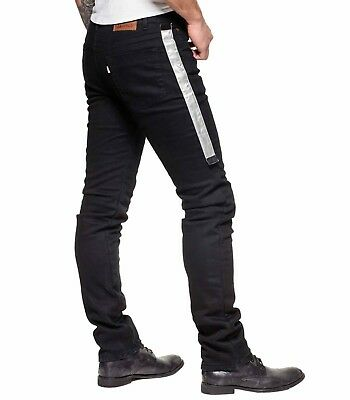 DIVALO® Motorbike Mens Armour Fabric Jean Knitted Made With DuPont™ Kevlar® Line