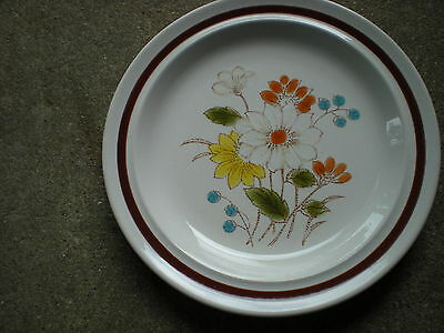 """Four Seasons Early Summer 6.5"""" Bread/Dessert Plate Made in Japan"""