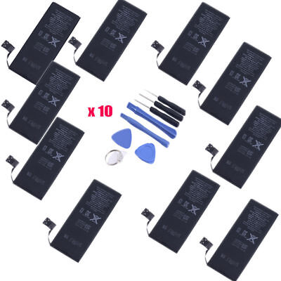 10X OEM Original Genuine Apple Internal Replacement Battery for iPhone 6 1810mAh