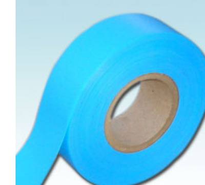 1 Roll LIGHT BLUE Receptive Flagging Barrier Tape 30mm 50M  Ribbon non adhesive