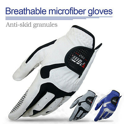 Men's Golf Player Left Hand Glove Men Slip-resistant Breathable Non-slip Gloves