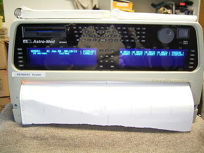 ASTRO-Med, MT95K2, 8-32 Kanal Thermo Chart Recorder