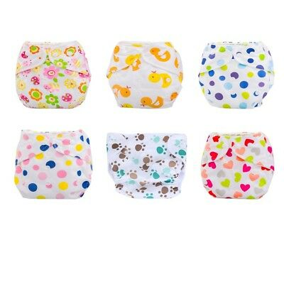 HOT Newborn Baby Summer Adjustable Cloth Diaper Cover Reusable Washable Nappy