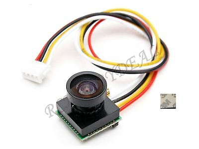 600TVL 1/4 1.8mm CMOS FPV 170 Degree Wide Angle Lens Camera PAL  3.7-5V D