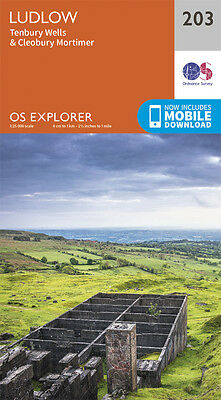 Ludlow Explorer Map 203 - New - OS - Ordnance Survey