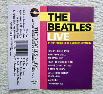 Mc / The Beatles  /   Live At The Star-Club In Hamburg  /  Rarität / Italy Press