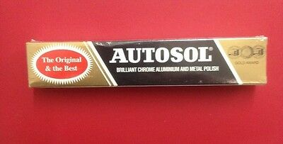 Autosol Solvol Chrome Polish Cleaner Aluminium & Metal Paste tube 75ml