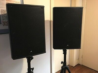 Speaker Hire | Powerful 500W RMS PA/Active Speakers For DJ's/HouseParties
