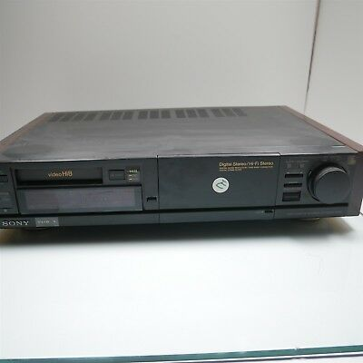 SONY EV-S3000 Hi8 Video8 8mm HiFi Stereo Editing VCR Tested Turns On