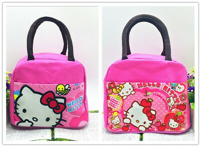 Portable Hello Kitty Oxford Insulated Thermal Picnic Lunch Bag for Kids Gift 61f8a51a59aaf