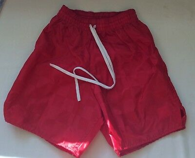 Vintage Made USA youth Small Soccer Shorts Bomark NWT Nylon Sportswear Athletic