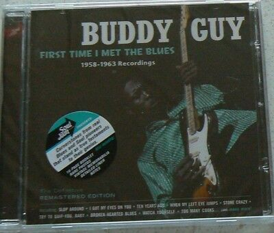 FIRST TIME I MET THE BLUES (Best of 1958-1963) - BUDDY GUY (CD) NEUF SCELLE