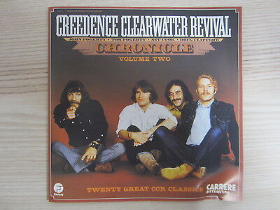CD / Creedence Clearwater Revival – Chronicle Volume 2 / FRANCE PRESS / RAR /