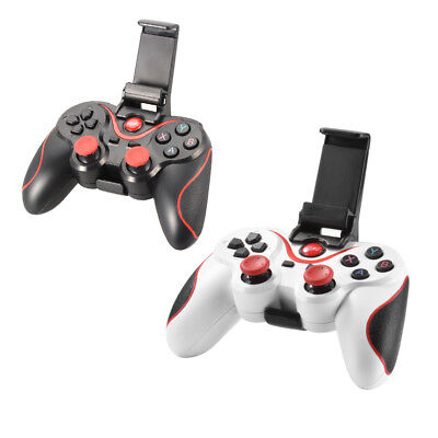 Wireless BT Gamepad Controller Bracket for Android Smartphone Black/White
